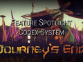 Journey's End Feature Spotlight: The Codex
