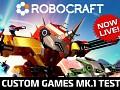 Custom Games Mk1. Alpha Update - 0.13.2171