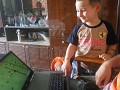 Our game tests a child of five. My friend's son