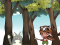 Cat in the woods - cute defense game