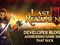 Last Regiment Dev Blog #6 - Addressing Game Ideas That Suck