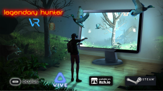 7/7/2017 (Duck Hunt time), Legendary Hunter VR released and live now in Steam store