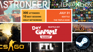 Indie Conference DevGAMM Summit 2017: Seattle July 31