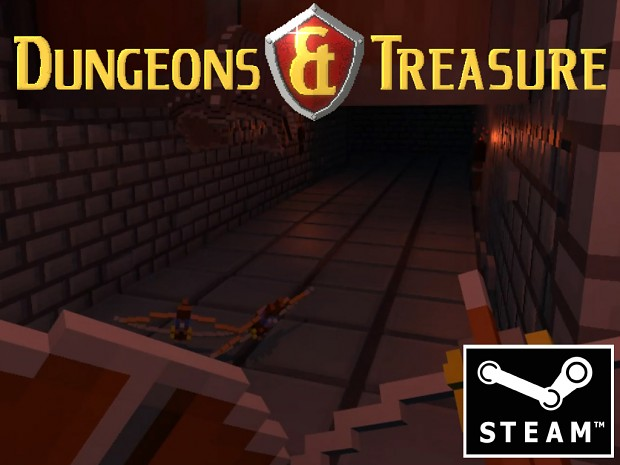 Dungeons & Treasure VR now on steam + work in progress