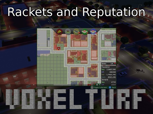 Dev Diary 8: Protection Rackets and Reputation - Wide vs Tall Play
