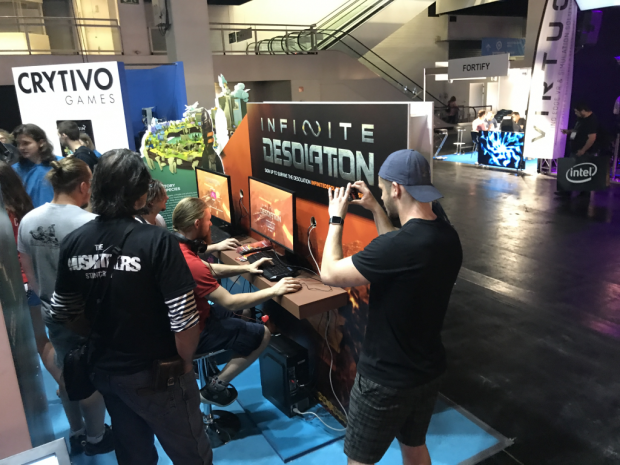 We're at Gamescom with a brand new demo build
