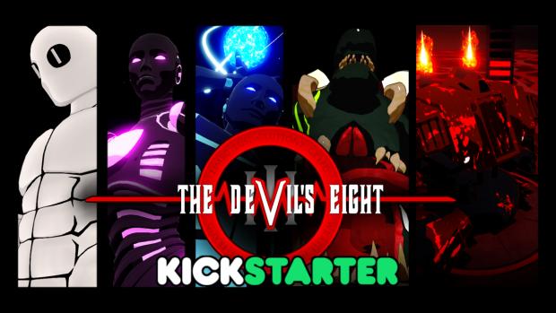 The Devil's Eight is now on Kickstarter!