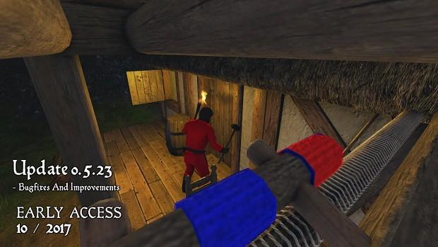 Medieval Engineers - Update 0.5.23 - Knock Knock!