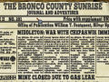 Corral Countdown 28: The Bronco County Sunrise