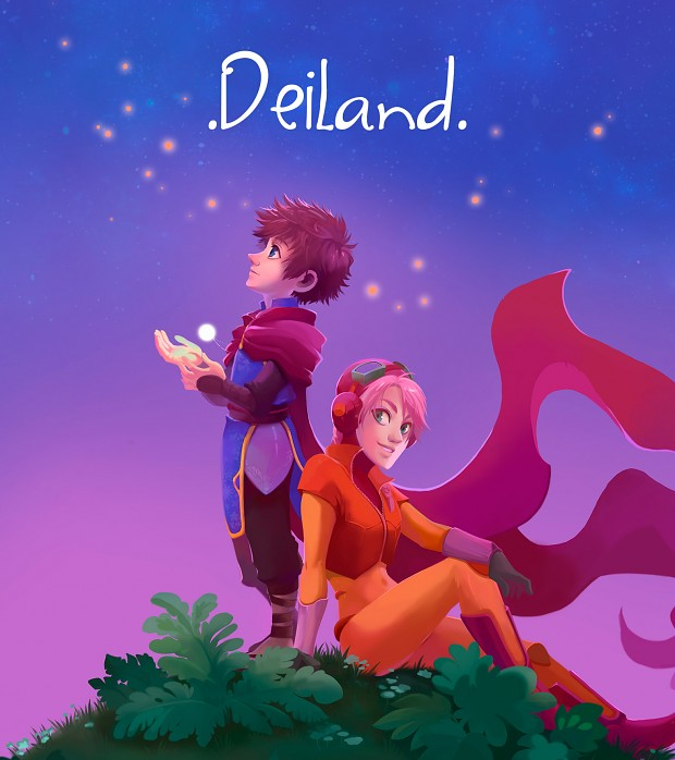 Deiland, the tiny planet indiegame, is funded on Kickstarter