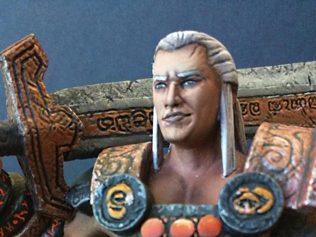 Labyrinth CCG + tactical RPG : 3D Printed Korghan