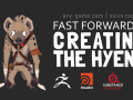 Creating the Hyena with Zbrush, Houdini3D (Part 1)