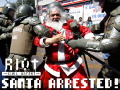Santa arrested! - Chilean Student Protests 2011