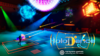 Christmas Present for Holodance Players: Psychedelic Mode