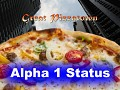Great Pizzatown: Alpha 1 Status