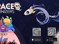 Idle click space game