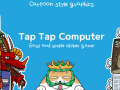 """Unique Comic and Cartoon styled bitcoin mining game """"TapTap computer"""" has released!"""