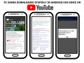 Users who stupidly download PC games on Android/iOS in Youtube