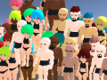 Gym Empire - Character and Community Building using Blender and Discord