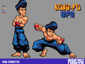 Kung-Fu UFO - Story and Characters