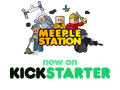 Meeple Station now live on KICKSTARTER