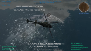 Speedboats, new feature in Save the seas scenario