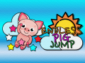 Endless Pig Jump is infinite jump game plus shooting game