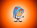 Cindy's Karate Suit: play with a different fighting style!