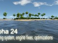Alpha 24 - Spoiling system, engine fixes, optimizations