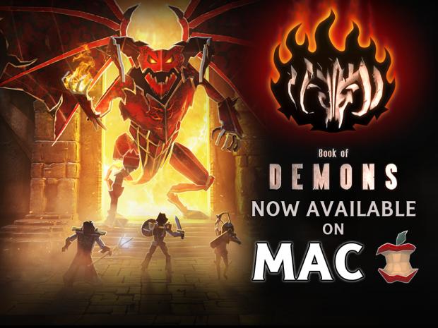 Book of Demons hacks'n'slashes onto Mac!