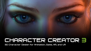Character Creator 3 releases with ZBrush, Daz3D, Iray and InstaLOD workflow