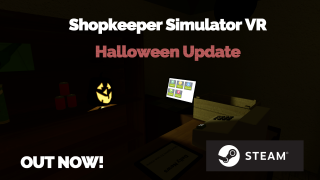 Halloween Update for Shopkeeper Simulator VR