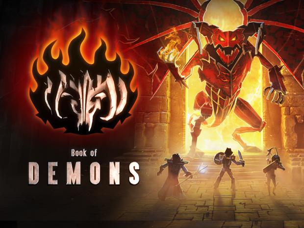 Book of Demons hack'n'slash release date is set to 13th Dec!