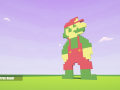 Mario Pixel Art on Quantonium!