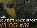 Devblog 59 : Foliage, Buildings, and Mod Reports