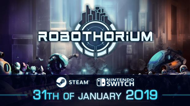 Robothorium is now out on Steam and Switch!!!