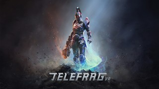 Telefrag VR - New logo, promo art and screenshots