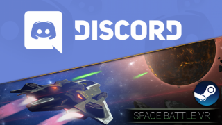 Discord server celebration - big discount on Space Battle VR