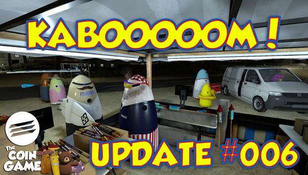 KABOOOM! Fireworks, fuel, robo friends and refresh of ALL leaderboards!
