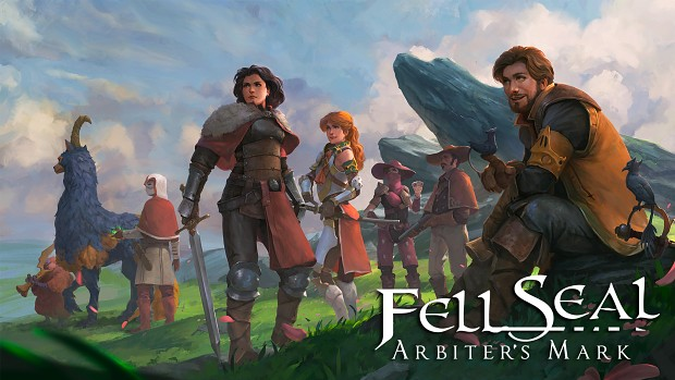 Fantasy Tactics, Revamped- Fell Seal: Arbiter's Mark is OUT TODAY on PC, PS4, and Xbox One!