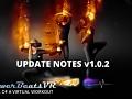 PowerBeatsVR v1.0.2 Update Notes