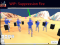 Historica Fantasia WIP : Suppression Fire