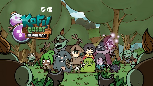 Kofi Quest: Alpha MOD is funded on Kickstarter! Campaign ends today