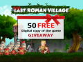 The Last Roman Village 50  FREE copies of the game