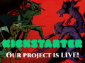 Alder's Blood has just launched a Kickstarter campaign today