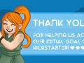 Kickstarter breaks 1st Stretch Goal!