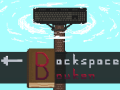 The absurd typing game Backspace Bouken hits Steam with a fresh new demo!