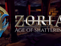 Zoria: Age of Shattering announcement and Steam page