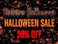 Sinister Halloween Sale
