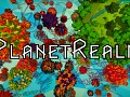 PlanetRealm: Puzzle-solving treasure hunt between tiny planets